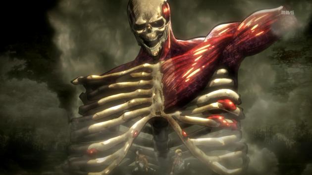 No sé si es Shingeki no Kyojin o una ilustración de un libro de anatomía